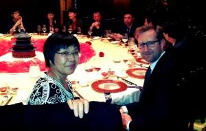 Joseph & Lucy Wu of the China Chain Store & Franchise Association (CCFA).