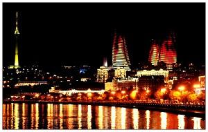 Baku by night