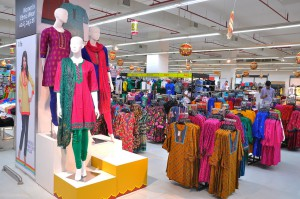 HyperCITY expanded apparel & homewares product mix