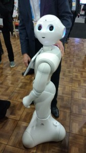 Pepper, the Humanoid Robot